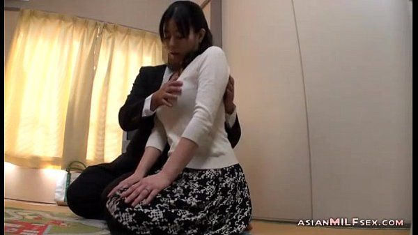 Milf Getting Her Tits Rubbed Nipples Sucked Giving Blowjob Fucked By Man On The
