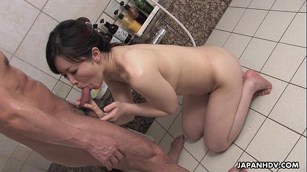 Mature Asian hoes cleans and drains the dude\