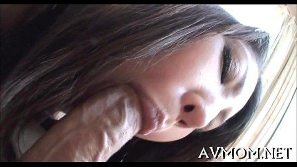 Marvelous juvenile mom seduces guy