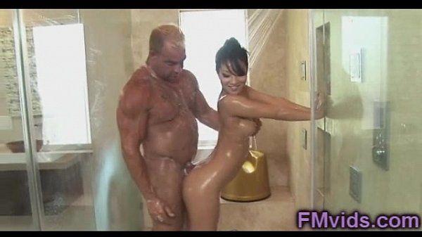 Asa Akira hot shower