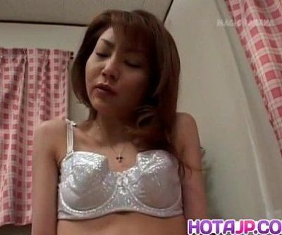 Rina Kangi fingers her brown pussy - 10 min