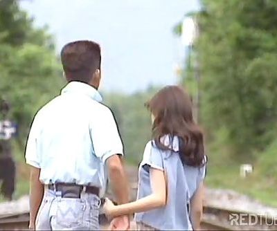 Cute young Japanese fucking passionate