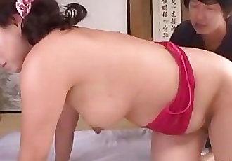 Hot mature Neko in position 69