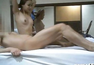 KOREA1818.COM - Korean Lady Sucks and Fucks - 12 min
