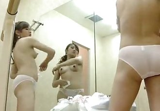 www.Fuckshet.com - Beautiful naked girls in the dressing room 3 - 5 min