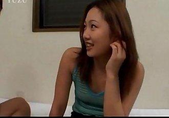Teen hottie Arisa Sugano is with her boyfriend - 8 min