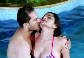 Shruti Bhabhi in Pool with Boss - 10 min