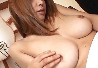 Big tits Asian babe totally felt out! - 6 min
