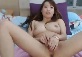 Busty Hottie Babe Reaches Orgasm - 6 min