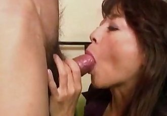 Mature Woman Giving Blowjob Fucked Fingered While Squirting By Young Guy On The - 9 min