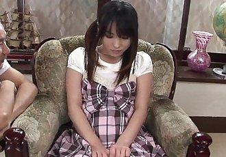 Asian schoolgirl Toyed hard - 8 min HD