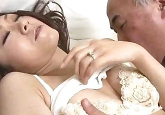 Ruri Hayami enjoys her uncle fucking her - 12 min