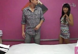 2 Asian Girls 1 Man Erotic Nude Massage - 11 min