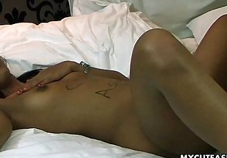 Just an everyday regular missionary fuck of her cunt - 8 min HD