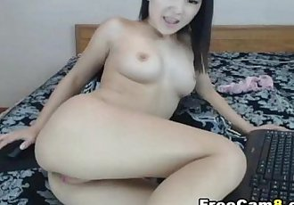 Hot Flawless Asian Beauty Masturbating - 11 min