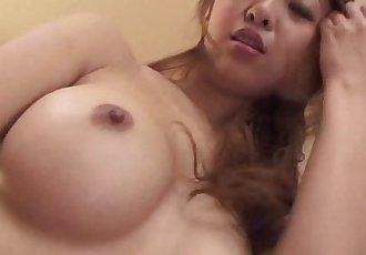 Asian amateur rides dick after giving hot blowjob - 6 min