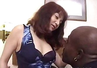 japanese wife get fucked by black guy - 29 min