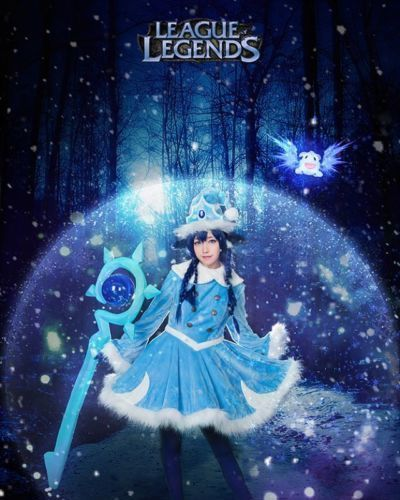 Winter Wonder Lulu - League of Legends