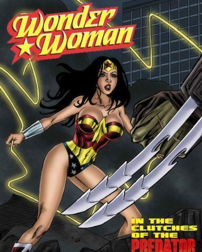 Wonder Woman vs Predator Ch. 1-3