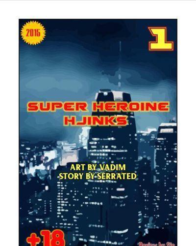 Super Heroine Hjinks 1