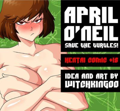April O Neil- Save The Turtles- Witchking00