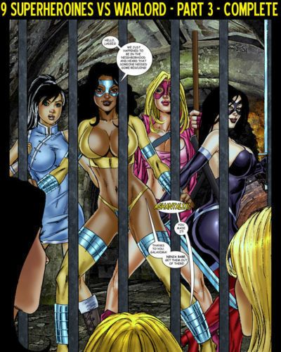 9 Superheroines vs Warlord Ch.3