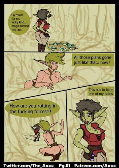Futa Goblin Alchemist