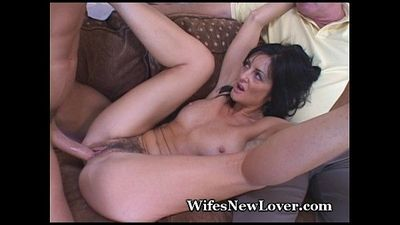 Old Neighbor Shares Mature Wife - 5 min