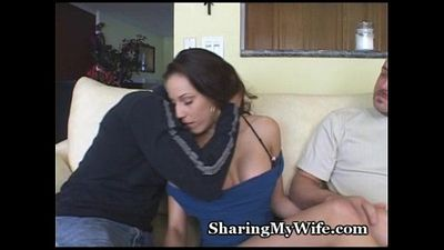 Married Couple Offers Wife Fuck - 5 min