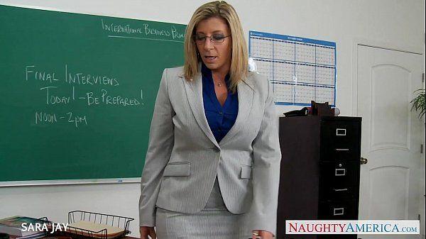 MILF Teacher Sara Jay fuck studentHD