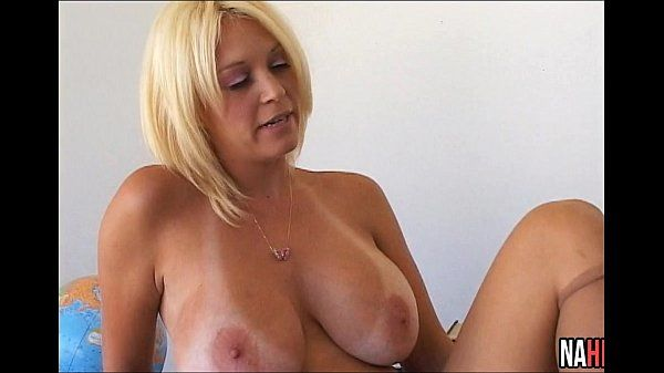 Hot Busty Blonde Fucked On Her Desk Charlee ChaseHD