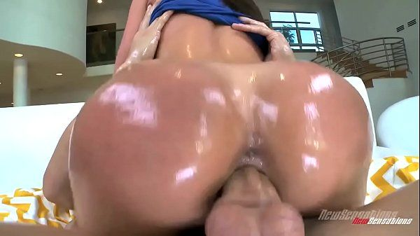 Kendra Lust getting fucked in oil with big dick