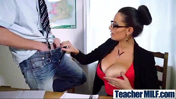 Sex Action In Class With Big Round Tits Teacher (sensual jane) mov-28