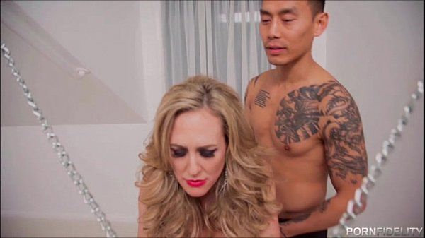 Chained Up Brandi Love Is The Fuck Slave To A Young Cock