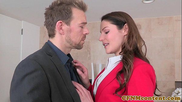 CFNM Lily Love plowed deep during threeway
