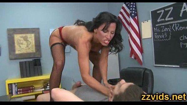 Horny teacher Lezley Zen fuked by student