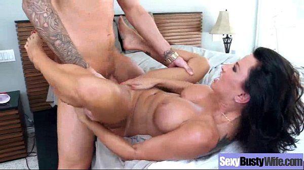 Sex Scene With Superb Round Bigtits Horny Slut Milf (lezley zen) vid-21