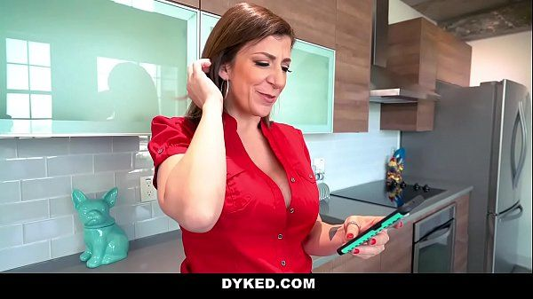 DykedMilf Tutor Sara Jay Fucks Tiny TeenHD