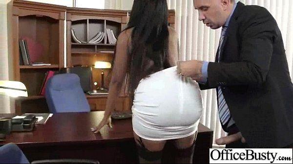 Sex Tape In Office With Slut Big Juggs Horny Girl (codi bryant) video-09