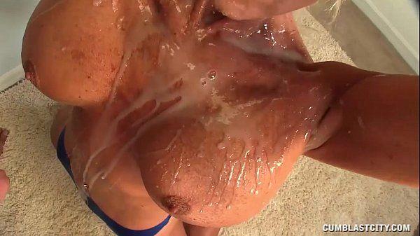 Topless Granny CumblastedHD