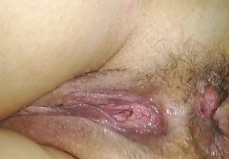 Sleeping Wife Hairy Ass and Pussy - 36 sec