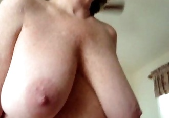 Ride em Cowgirl with big hangers - 22 sec