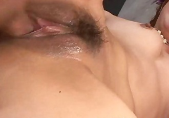 Japanese milf pounded from behind by lucky guy - 6 min
