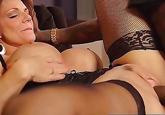 Hot Mature Cougar Deauxma Gets Drilled By A Big Black Cock! 10 min HD+