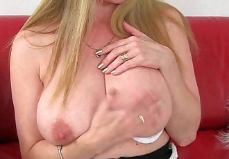 British milfs Lily and Amanda cant hide their nylon fetishHD