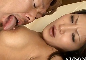 Milf cums from large sex tool - 5 min