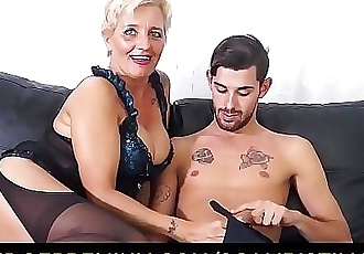 SCAMBISTI MATURIHardcore ass fucking with Italian blonde granny Shadow 10 min HD+