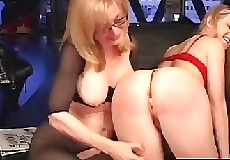 Younger Sunny Lane Punished By Almost Granny Nina Hartley! 11 min HD+