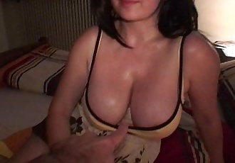 Big natural milf tits slapped, groped, fucked, nipples pinched w/ cum swallowingHD