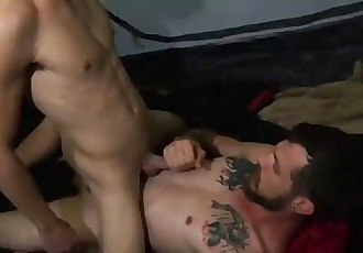 FamilyDick-Smooth Twink Bottom Barebacked by Daddy on Camping Trip